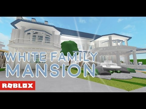 Roblox Bloxburg White Family Mansion Giveaway Youtube
