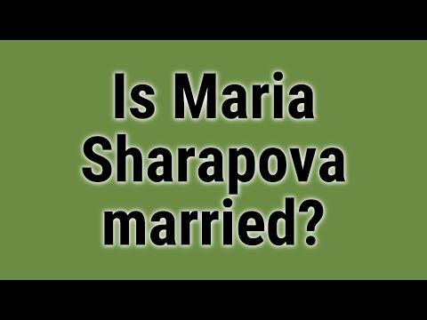 Is Maria Sharapova Married?