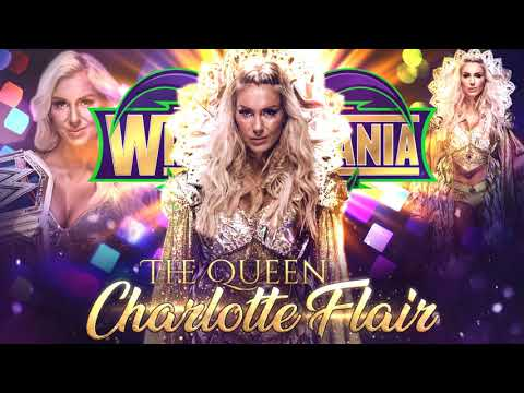 #LR Charlotte Flair WrestleMania 34 - Recognition (Legacy Intro) Arena Effects