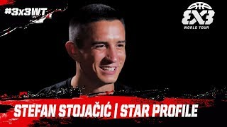 Meet Stefan Stojačić AKA Mr. Robot | Star Profile | FIBA 3x3 World Tour 2018