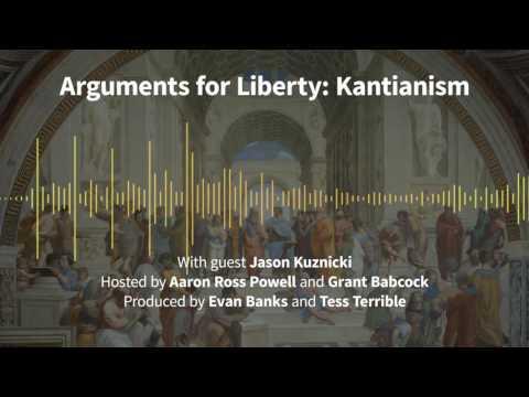Episode 168: Arguments for Liberty: Kantianism (with Jason Kuznicki)