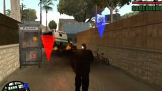 Repeat youtube video Como hacer un kamehameha en gta san andreas