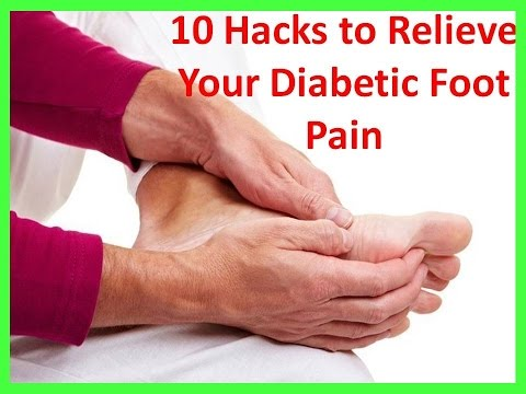 Diabetic Foot Pain Symptoms and Treatment | Diabetes foot pain