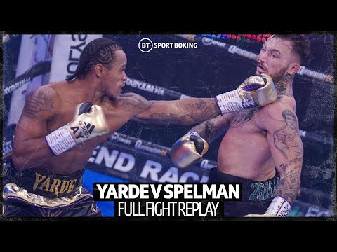 Full fight: Anthony Yarde v Dec Spelman