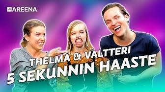 THELMA JA VALTTERI - 5 SEKUNNIN HAASTE FT. EMMA KUNNAS