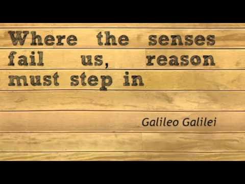Top 5 influential thoughts of Galileo