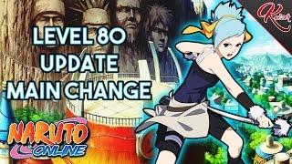 Naruto Online | Level 80 Update | Main Switching | Goodbye Scarlet Blaze