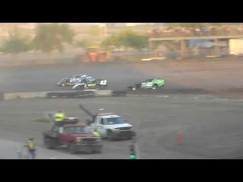 Nodak Speedway IMCA Modified B-Main (Motor Magic Night #2) (9/3/17)