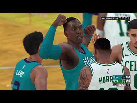 Celtics vs. Charlotte Hornets NBA 2K18