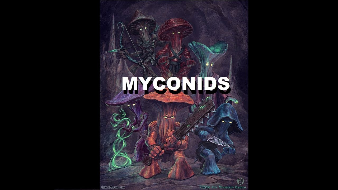 Dungeons And Dragons Lore  Myconid