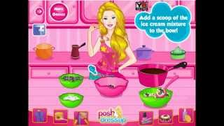 Barbie's Cookies and Cream Sundeas - Y8.com Online Games by malditha