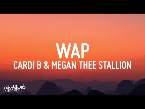 Cardi B Wap Lyrics Feat Megan Thee Stallion Youtube
