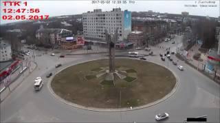 Появилось видео самого момента ужасного ДТП на кольце в Сыктывкаре