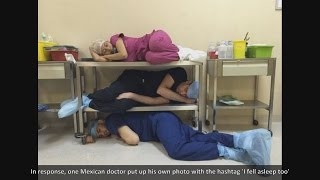 Video Guy who posted photos of doctors sleeping on duty didn't get the reaction he'd expected download MP3, 3GP, MP4, WEBM, AVI, FLV Juni 2017