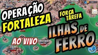 OPERAÇÃO FORTALEZA (AO VIVO) | BOOM BEACH | FT ILHAS DE FERRO - TAG #22UJ9LQ2