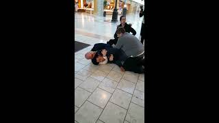 Shoplifter gets choked and arrested