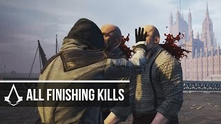 Assassin's Creed Syndicate - ALL Finishing Moves/Brutal Kills Compilation