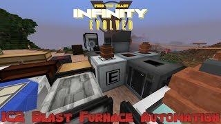 FTB Infinity Evolved - Automating IC2 Blast Furnace