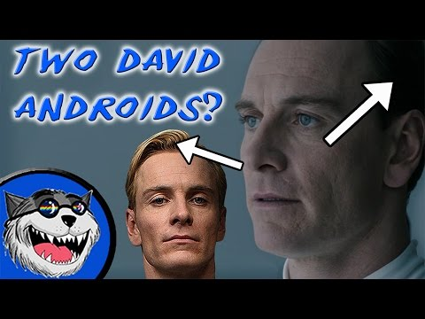 Alien: Covenant Trailer - Two David Androids?