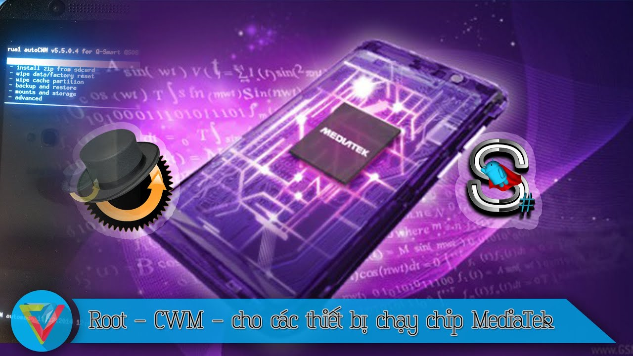Root - CWM - cho các thiết bị chạy chip MediaTek - Dragon459 Inc