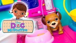 Doc McStuffins Pet Vet Checkup Center Playset Disney Toys | Kinder Playtime