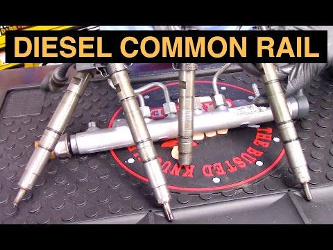 How Diesel Common Rail Fuel Systems Work