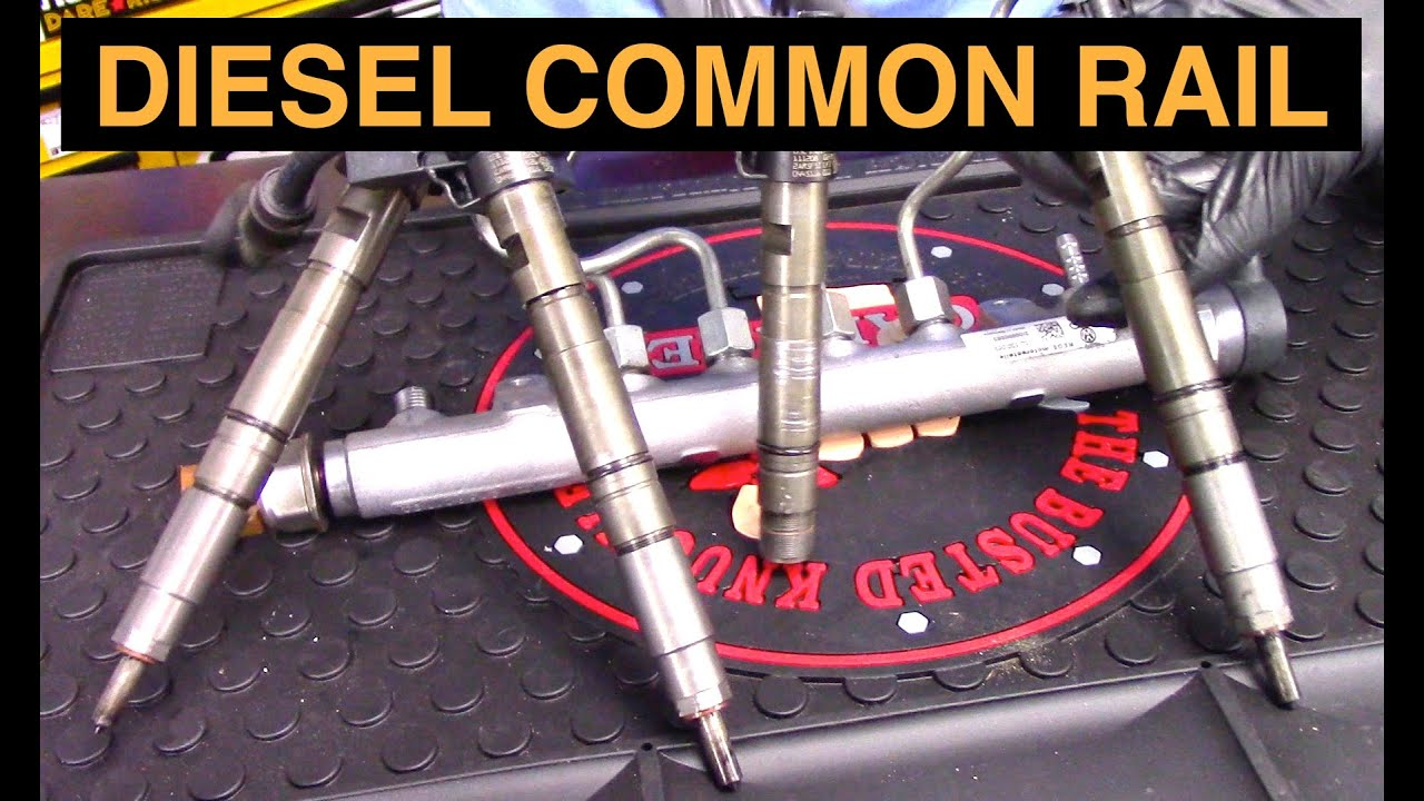 How Diesel Common Rail Fuel Systems Work Youtube 2012 Ram 2500 6 7l Filter Location