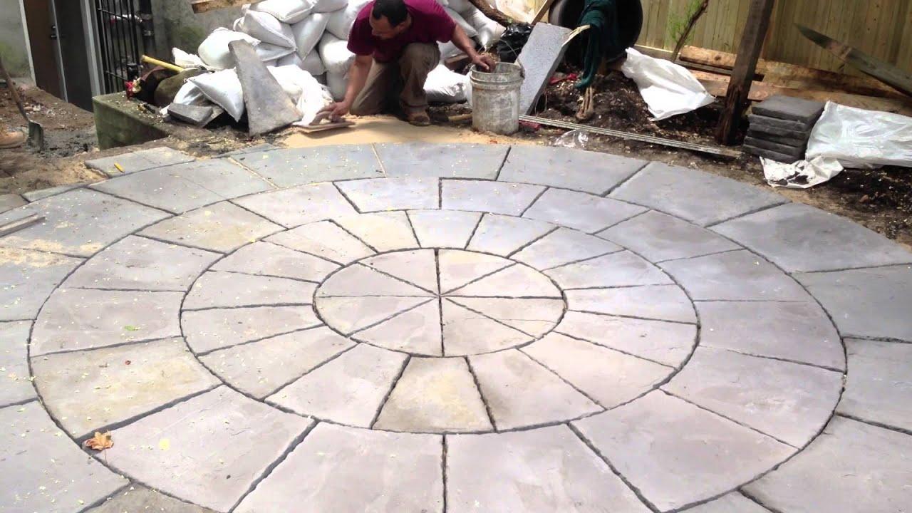 Innovation Construction Installing 13ft Diameter Circle