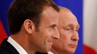 الملف النووي الإيراني وروسيا وأوكرانيا في قلب محادثات ماكرون وبوتين…