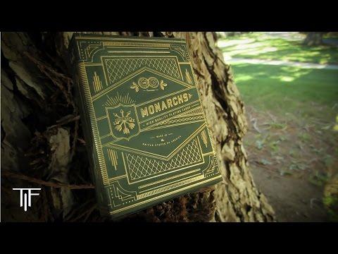 Green Monarchs Cardistry - Theory 11 Deck Trailer