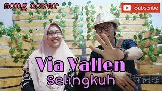 """Lagu bagus y dpopulerkan Via Vallen """"Selingkuh"""" cover by Rikha 'bybech' feat Soerya 'bankkey'"""