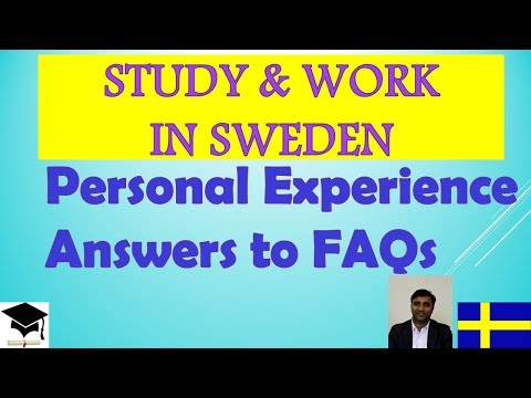 Study & Work in Sweden-Personal Experience & Answers to FAQs