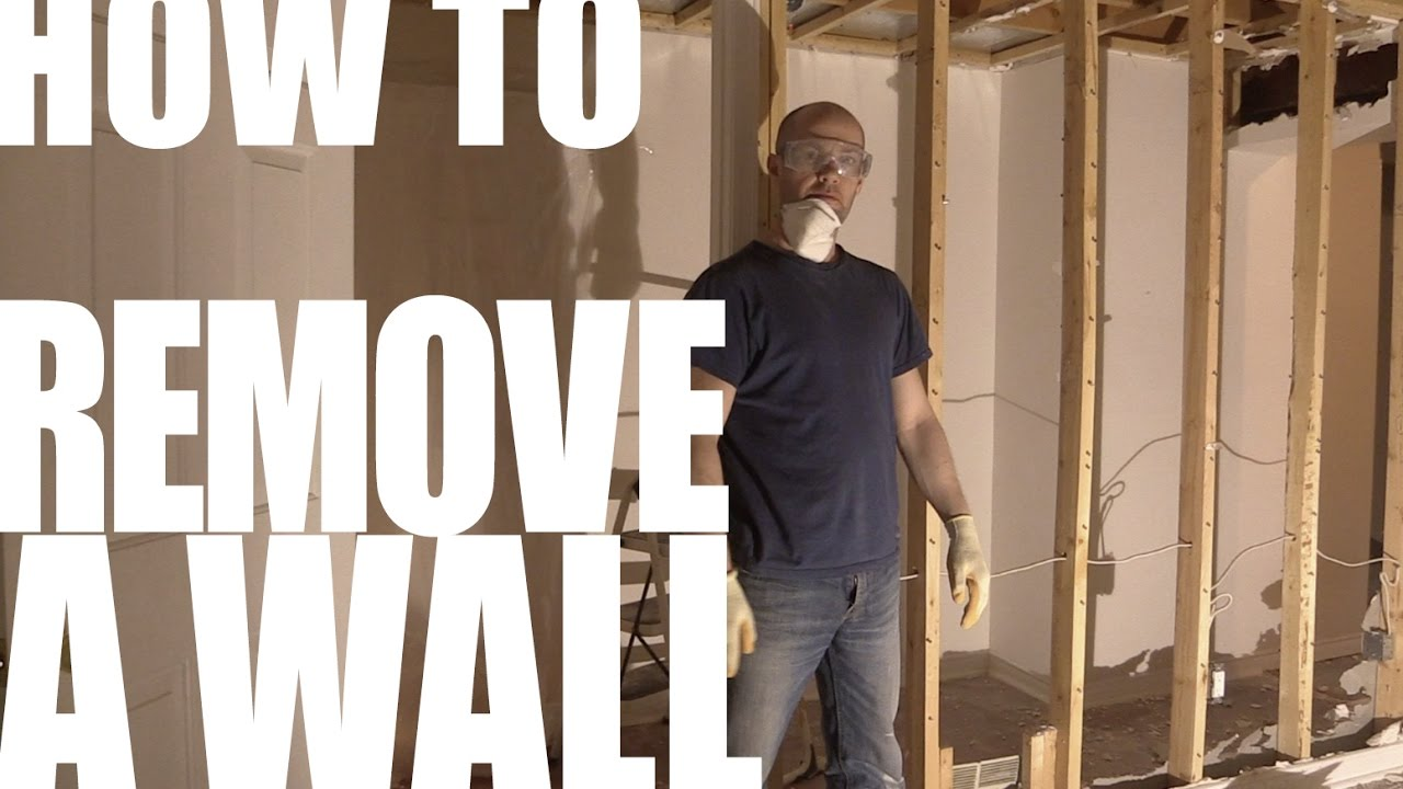 How To Remove A Non Load Bearing Wall In 30 Seconds