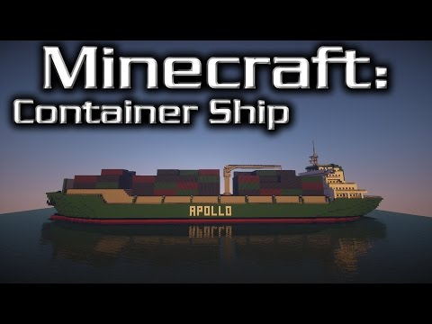 Minecraft: Container Ship Tutorial (Apollo)