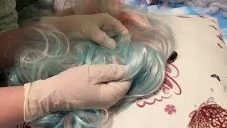 ASMR Fairy/Pixie Scalp Check? Whisper with Latex Gloves