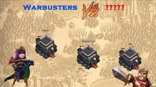 Clash of Clans War Recap: Warbusters vs ?????