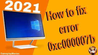How to fix 0xc000007b for EVERY GAME! (Still works 2019