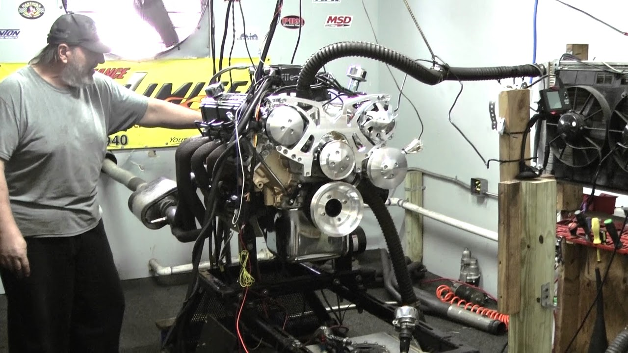 1967 Mustang 351W Crate Engine with FiTech EFI by Proformance Unlimited