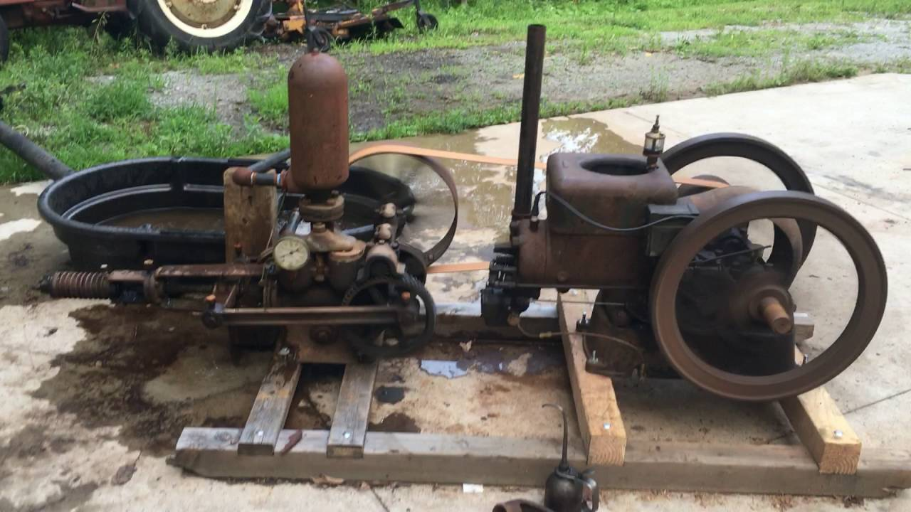 3hp Fairbanks Morse Running A 3x5 Quot Fairbanks Morse Pump