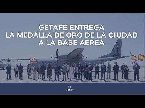 Getafe concede la medalla de oro a la Base Aérea