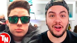Enaldinho é acusado de copiar vídeo, Luccas Neto é alfinetado