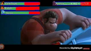 (REMAKE) RALPH BREAKS THE INTERNET FINAL BATTLE WITH HEALTHBARS