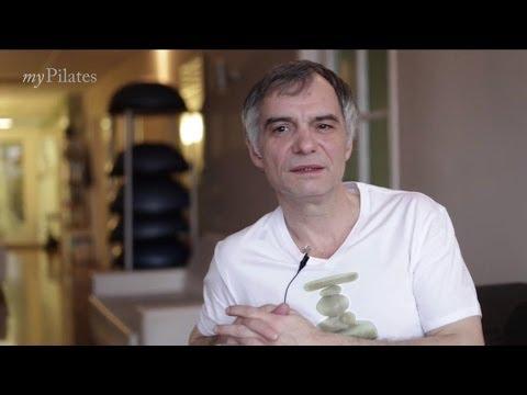 Ivan Trojan ve studiu myPilates