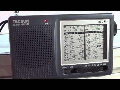 NHK Radio Japan French on Tecsun R9012