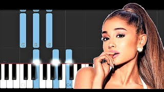 Ariana Grande - break up with your girlfriend, i'm bored (Piano Tutorial)