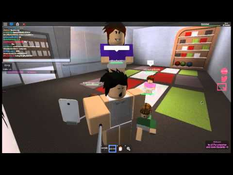LAD daycare on roblox! - YouTube