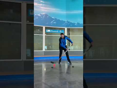 Hockey Stick Dangling Challenge
