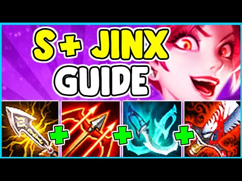 HOW TO PLAY JINX ADC & SOLO CARRY In Season 10 | Jinx Guide S10 - League Of Legends