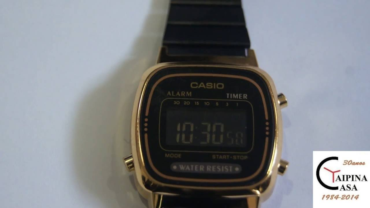 99de3219ccf NEW LA670WEGB-1BEF - CASIO Collection Retro - YouTube
