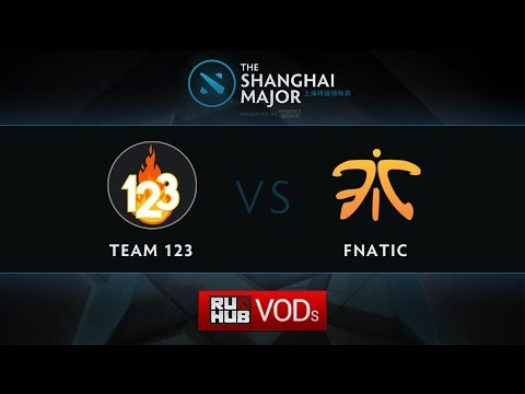Fnatic - Taring, Shanghai Major SEA Quali, Play-Off, Game 1